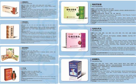 Key export products of GPHL