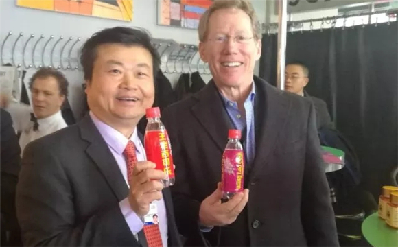 GPHL launched new product—Wang Lao Cola in Davos