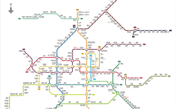 Guangzhou to open 13 new metro lines by the end of 2022