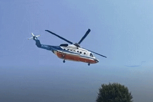 Guangzhou-HK-Macao helicopter routes will open to book starting from Sunday evening